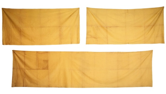 Tanaka Atsuko, Work (Yellow Cloth), 1955.