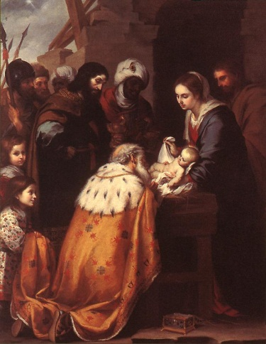 Murillo, The Adoration of the Magi, ca. 1655-60. Collection of the Toledo Museum of Art.