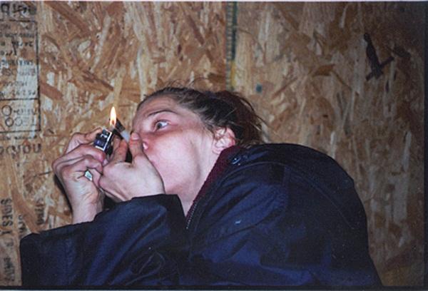 Zoe Strauss, Camden Crack, Camden, NJ, 2004.