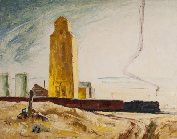 Clyfford Still, PH-615, 1927. Collection of the Clyfford Still Museum, Denver.
