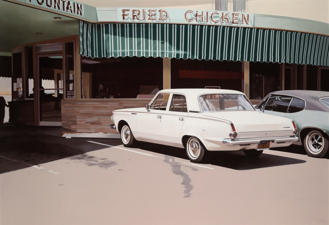 Robert Bechtle, '64 Valiant, 1971. Collection of Yale University Art Gallery, New Haven, Conn.