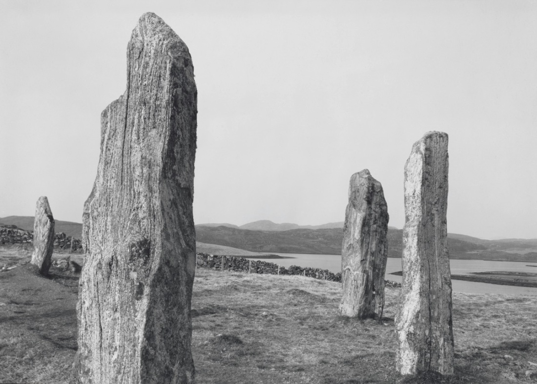Paul Caponigro, Callanish Stone Circle, Isle of Lewis, Outer Hebrides, Scotland, 1972.