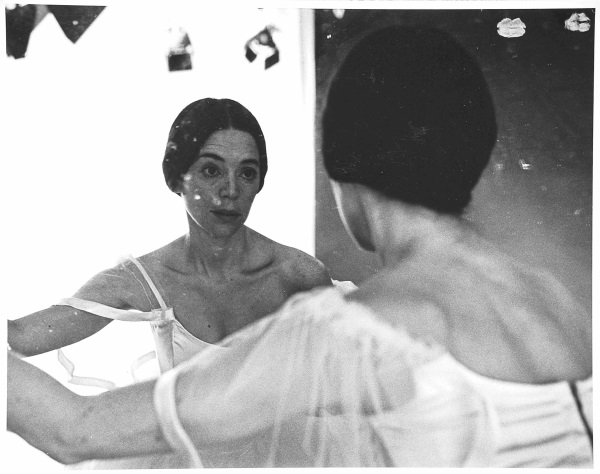 "Eleanor Antin, The Two Eleanors from the series ""The Ballerina,"" 1973."