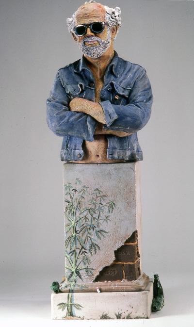 Robert Arneson, California Artist, 1982. Collection of the San Francisco Museum of Modern Art.