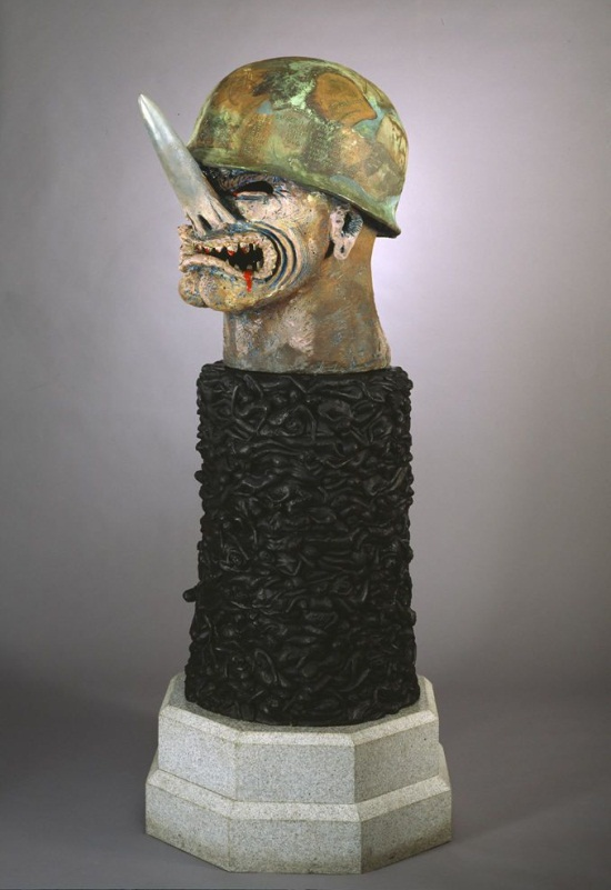 Robert Arneson, General Nuke, 1984. Collection of the Hirshhorn Museum and Sculpture Garden, Washington.