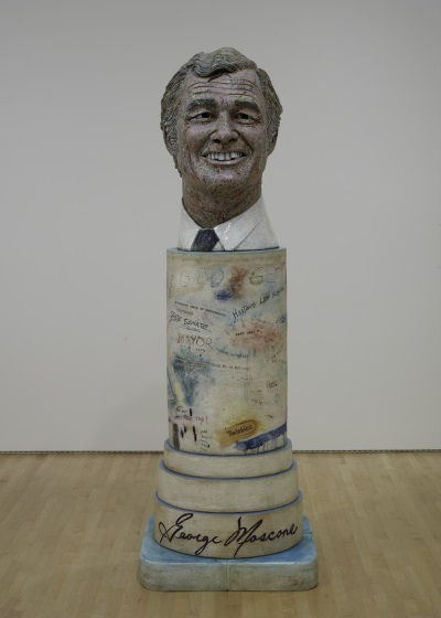 Robert Arneson, Portrait of George, 1981. Collection of the San Francisco Museum of Modern Art.