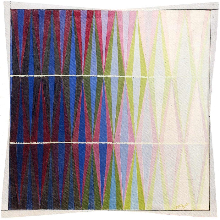 Giacomo Balla, Iridescent Interpenetration No. 7, 1912. Collection of the Galleria Civica d'Arte Moderna e Contemporanea, Turin.