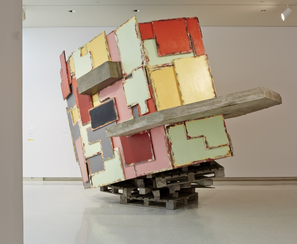 Phyllida Barlow, upturnedhouse, 2012. Collection of the Carnegie Museum of Art, Pittsburgh.