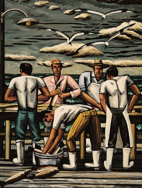 David Bates, The Cleaning Table, 1990.