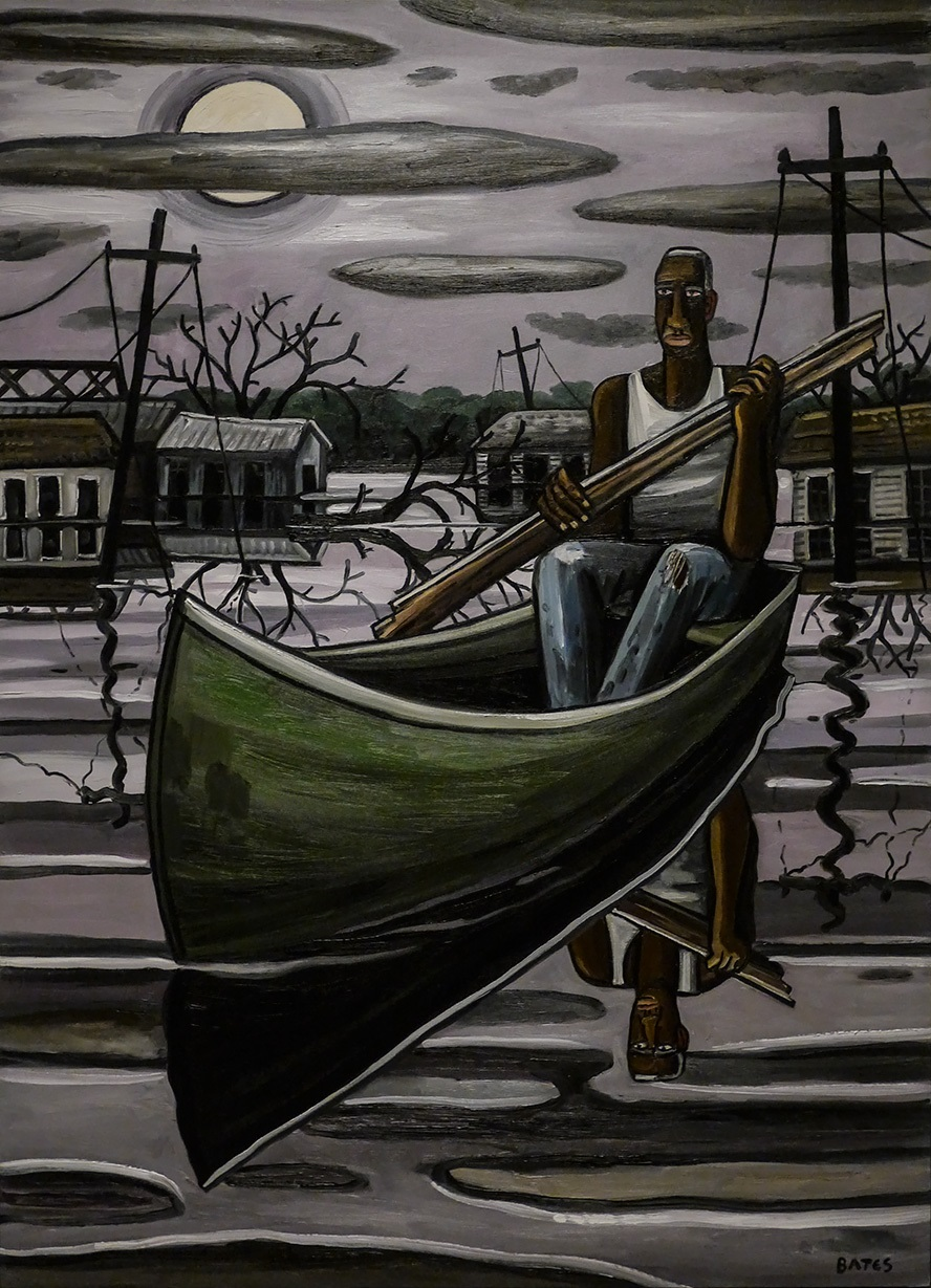 David Bates, The Deluge III, 2006-07.