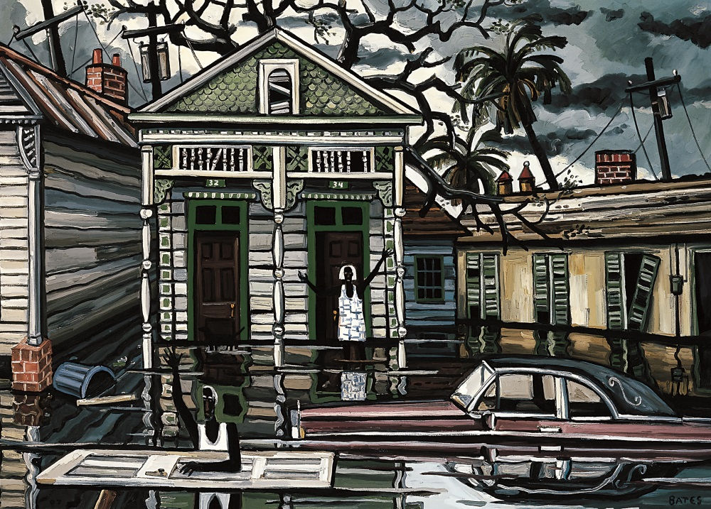 David Bates, The Deluge V, 2007.