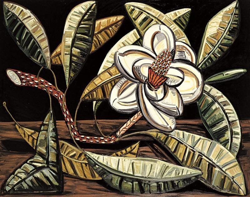 David Bates, Jan's Magnolia, 1986.
