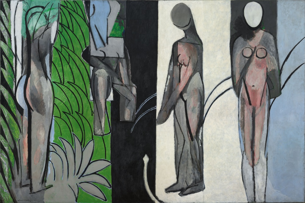 Henri Matisse, Bathers by a River, 1910-17. Collection of the Art Institute of Chicago.