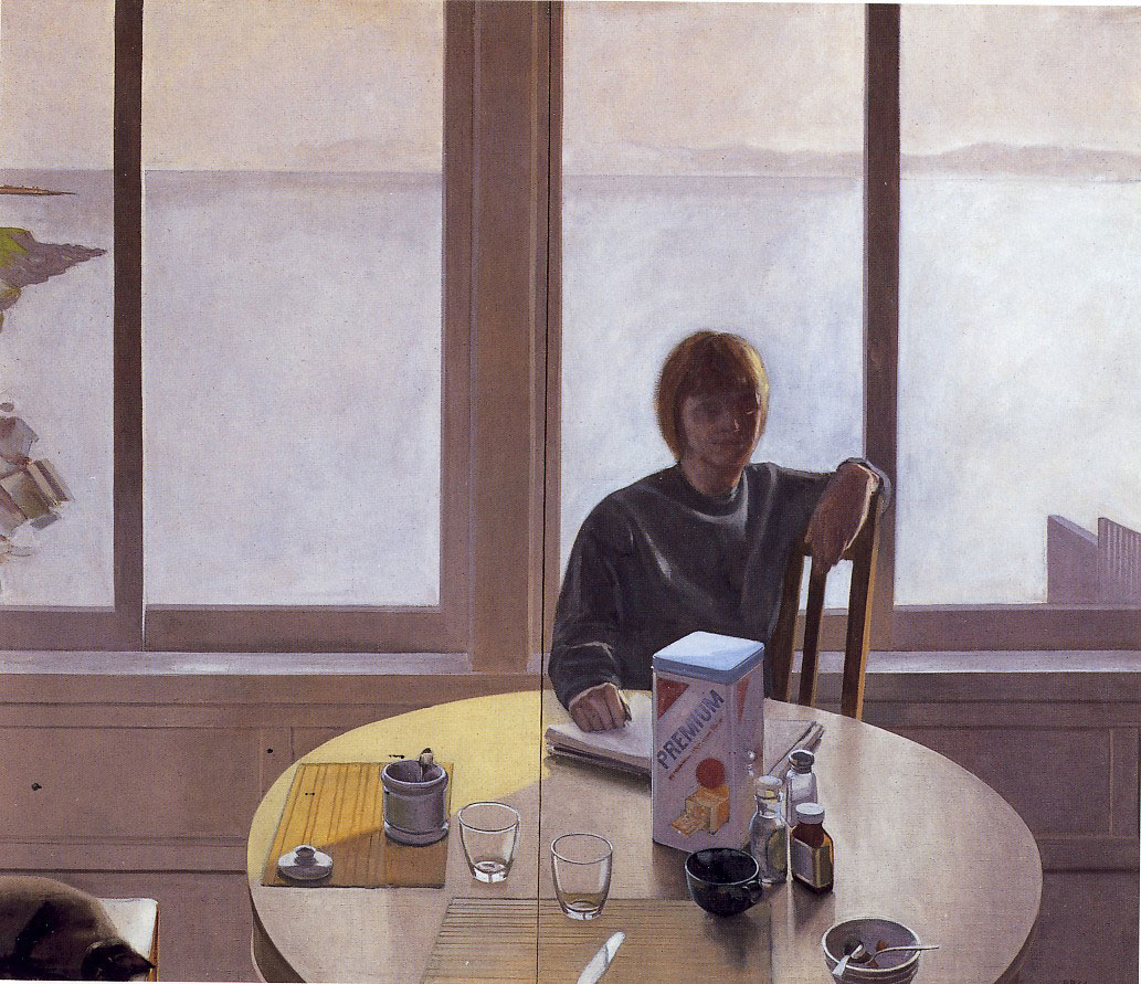 Robert Bechtle, Nancy Sitting, 1964.