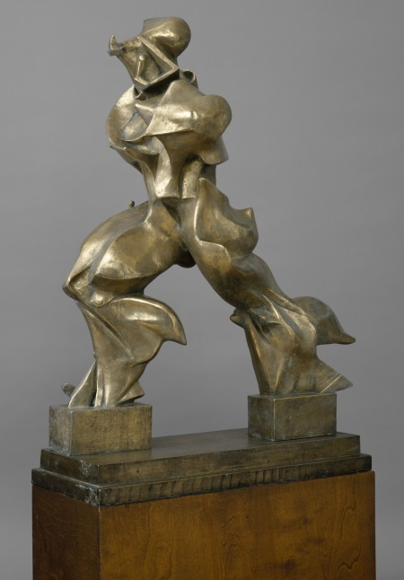 Umberto Boccioni, Unique Forms of Continuity in Space (Forme uniche della continuità nello spazio), 1913 (cast 1949). Collection of the Metropolitan Museum of Art, New York.