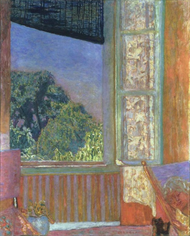 Pierre Bonnard, The Open Window, 1921. The Phillips Collection, Washington.