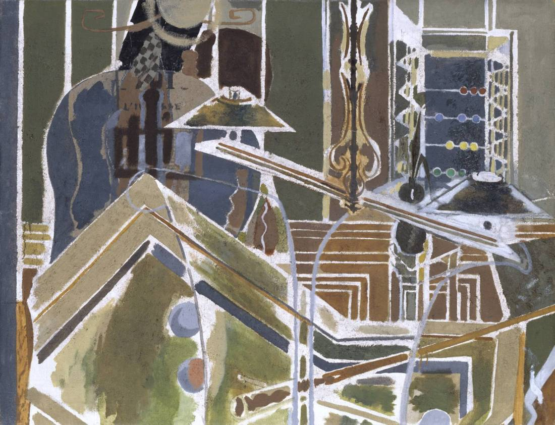 Georges Braque, The Billiard Table, 1945. Collection of Tate, London.