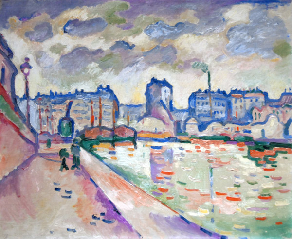 Georges Braque, Le Canal Saint-Martin, Paris, 1906. Collection of the Museum of Fine Arts, Houston.