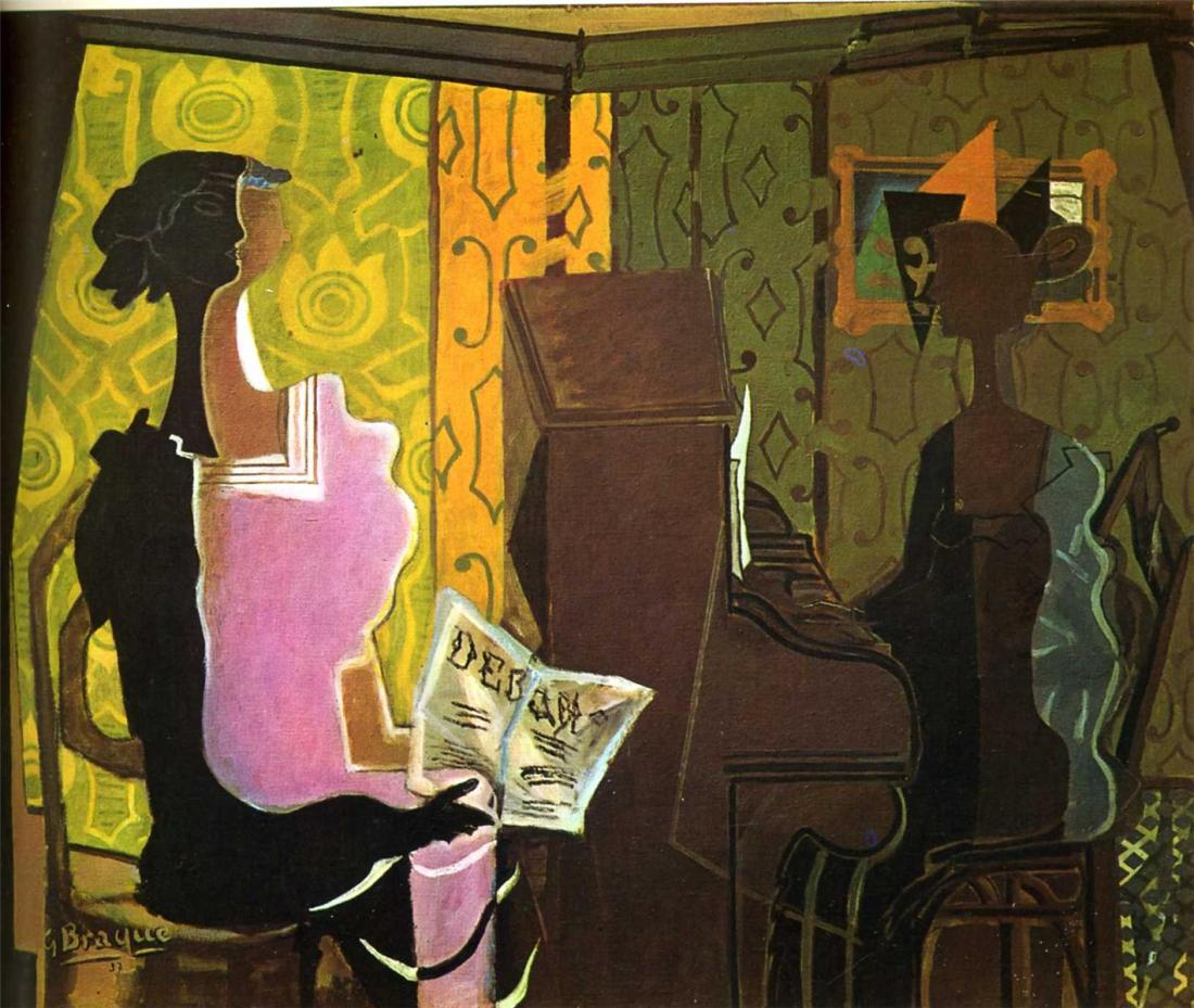 Georges Braque, The Duet, 1937.