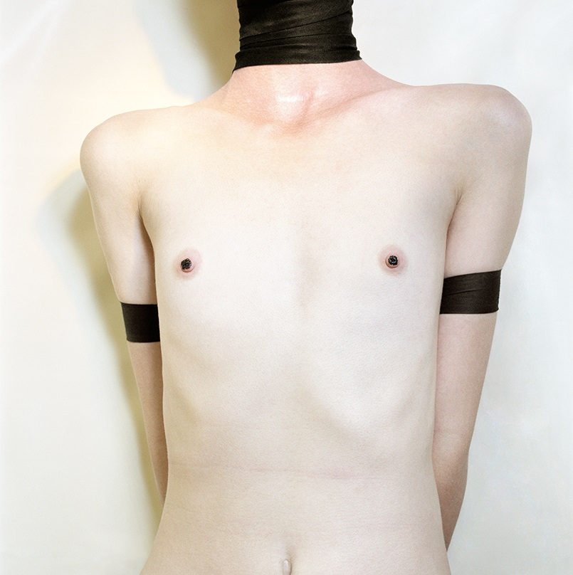 Jo Ann Callis, Three Black Bands, 1976-77.