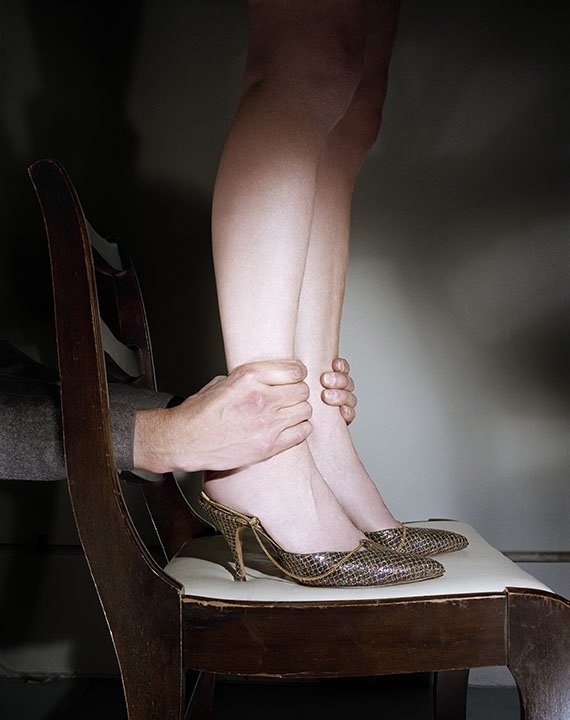 Jo Ann Callis, Hands on Ankles, 1976-77.
