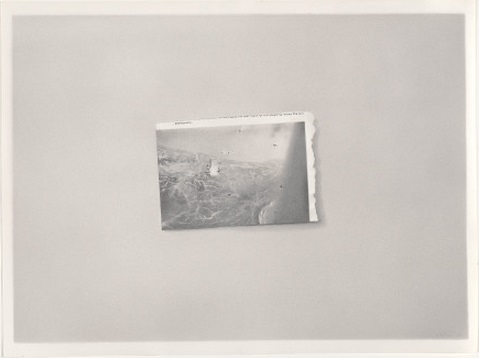 Vija Celmins, Airplane Disaster, 1968. Collection of the National Gallery of Art, Washington.