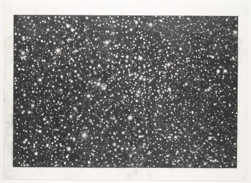 Vija Celmins, Star Field III, 1982-83. Collection of the Museum of Modern Art, New York.