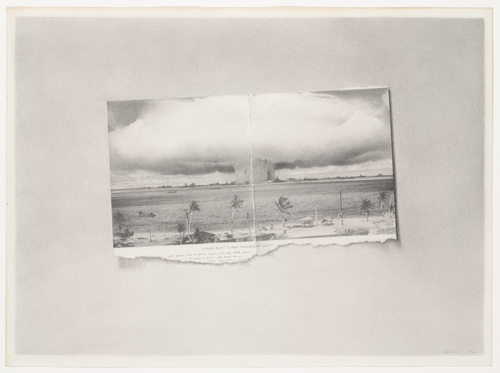 Vija Celmins, Bikini, 1968. Collection of the Museum of Modern Art, New York.
