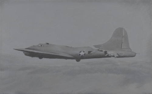 Vija Celmins, Flying Fortress, 1966. Collection of the Museum of Modern Art, New York.