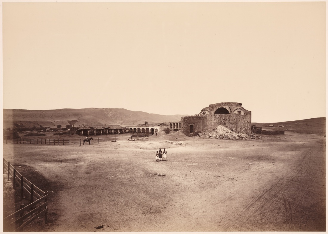 Carleton Watkins, Mission San Juan Capistrano, ca. 1877. Collection of the Huntington Library, Art Collections and Botanical Gardens, San Marino.