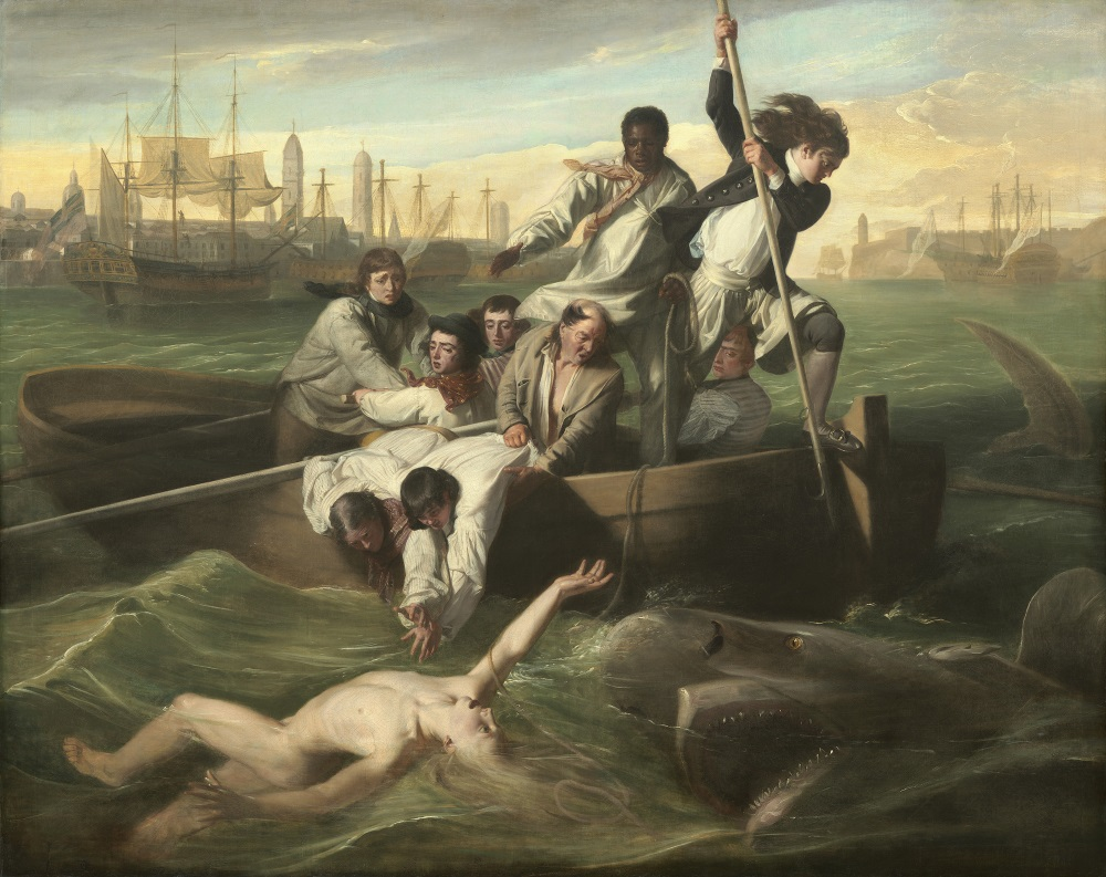 John Singleton Copley, Watson and the Shark, 1778. Collection of the National Gallery of Art, Washington.