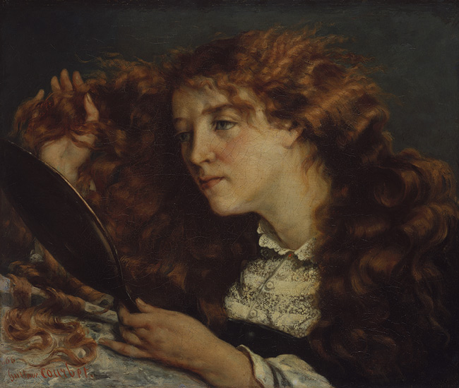 Gustave Courbet, Jo, La Belle Irlandaise, 1865-66.