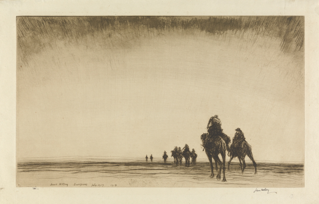 Kerr Eby, Dawn. The Camel Patrol Setting Out, 1919.