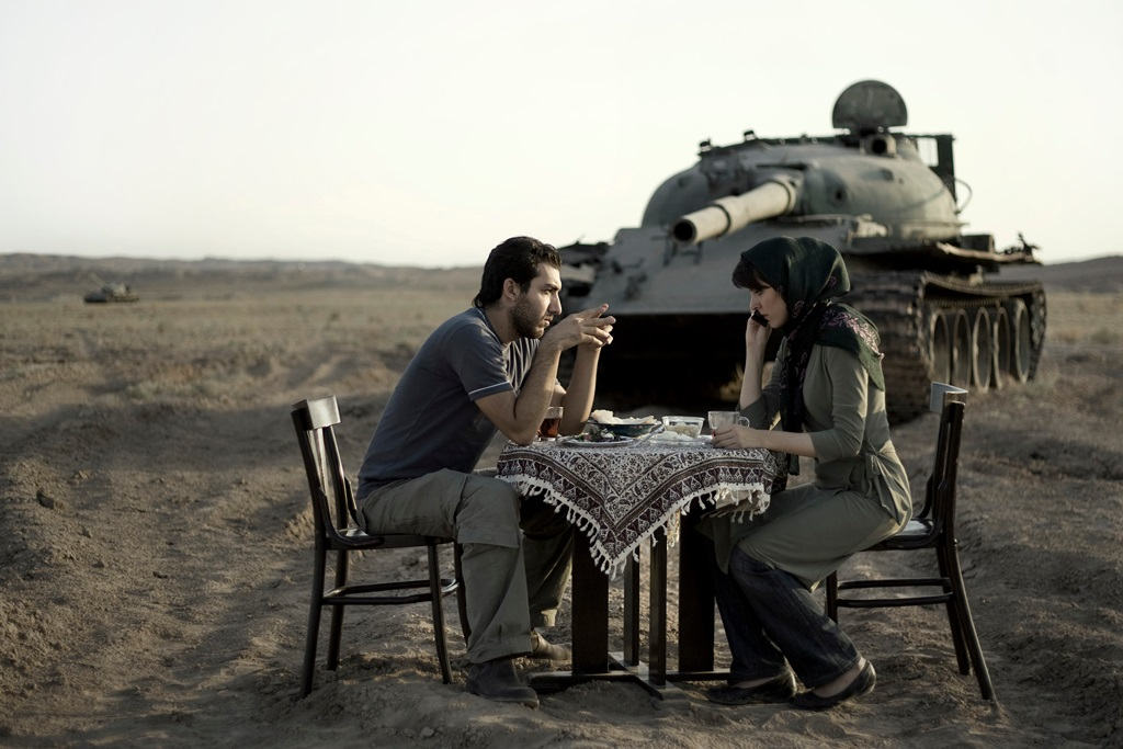 "Gohar Dashti, Untitled #7 from ""Today's Life and War,"" 2008."
