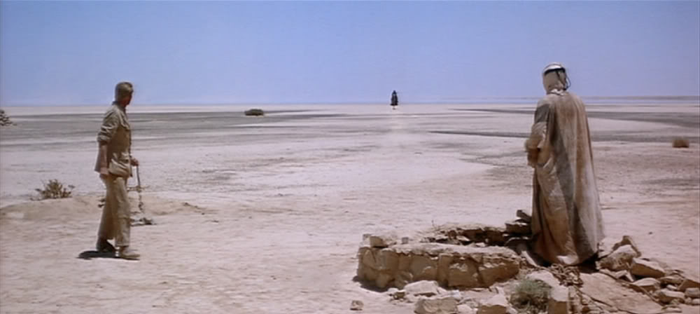 "Still from the film ""Lawrence of Arabia."""