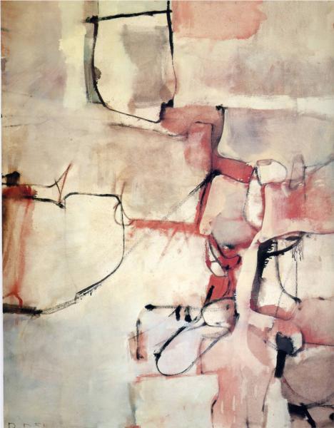 Richard Diebenkorn, Albuqueraue #3, 1951.