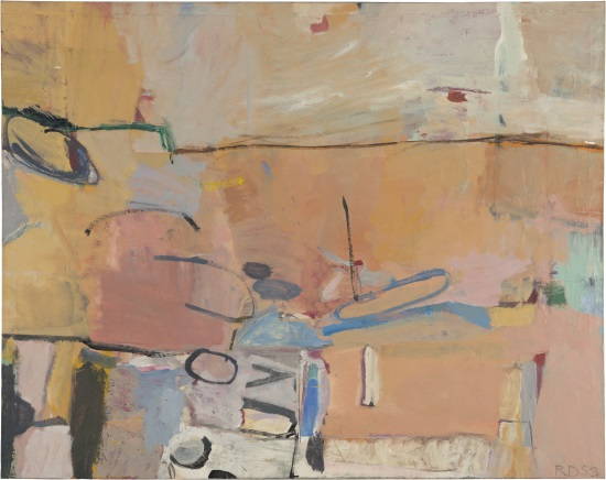 Richard Diebenkorn, Berkeley #3, 1953. Collection of the Fine Arts Museums of San Francisco.