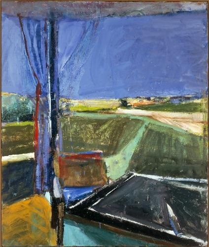 Richard Diebenkorn, Black Table, 1960. Collection of the Carnegie Museum of Art, Pittsburgh.