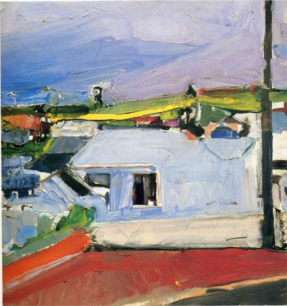Richard Diebenkorn, Chabot Valley, 1955.