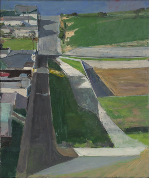 Richard Diebenkorn, Cityscape I, 1963. Collection of the San Francisco Museum of Modern Art.