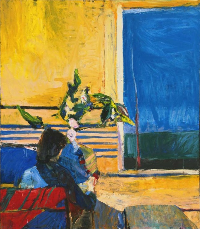 Richard Diebenkorn, Girl with Plant, 1960. The Phillips Collection, Washington.