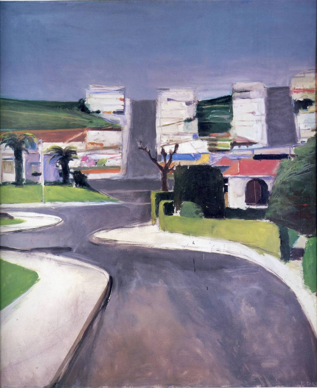 Richard Diebenkorn, Ingleside, 1963. Collection of the Grand Rapids (Mich.) Art Museum.