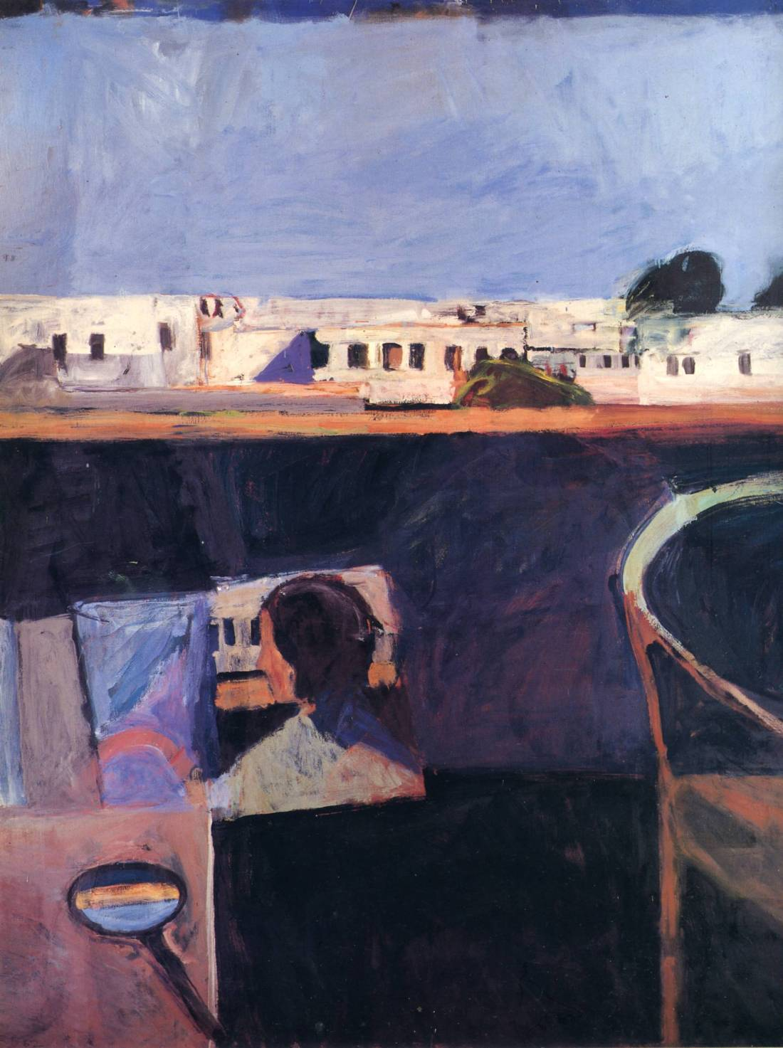 Richard Diebenkorn, Interior with View of Buildings, 1962. Collection of the Cincinnati Art Museum.