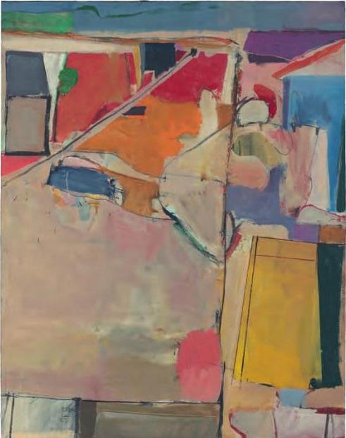Richard Diebenkorn, Urbana #5 (Beach Town), 1953.