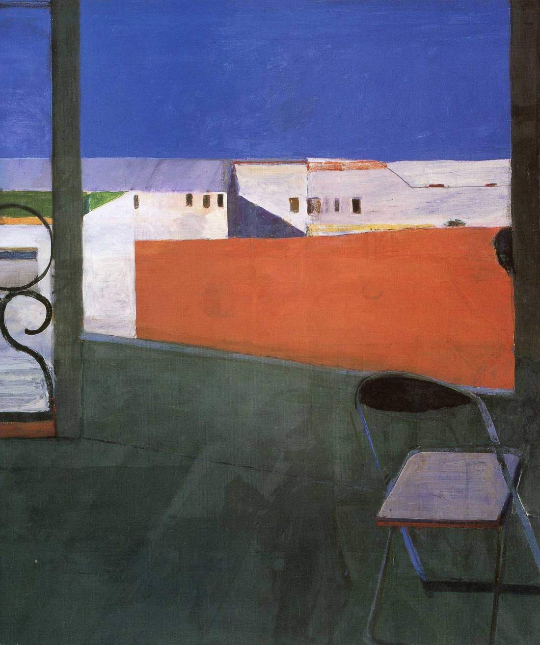Richard Diebenkorn, Window, 1967. Collection of the Cantor Arts Center, Stanford University.
