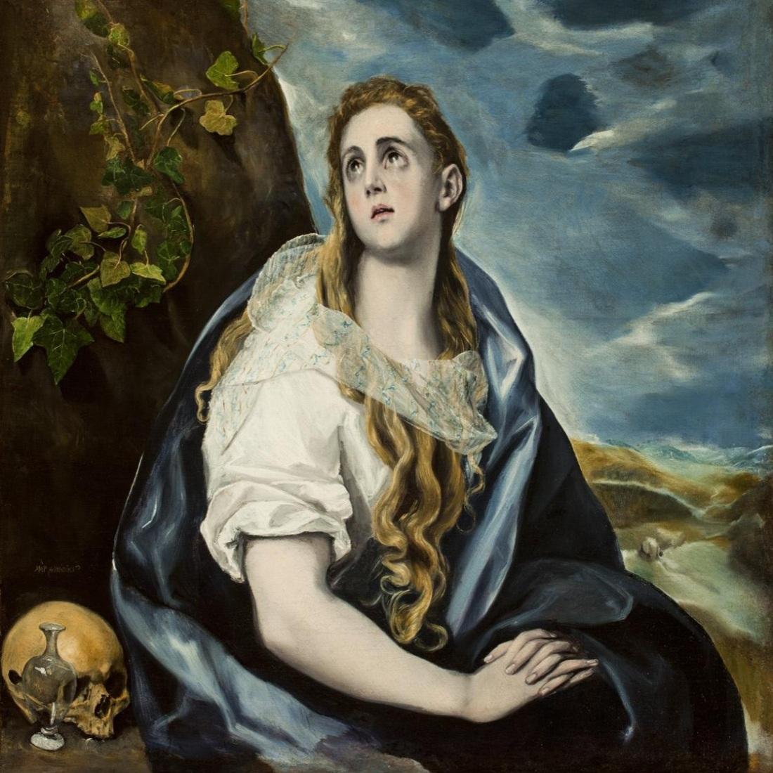 El Greco, The Penitent Magdalene.