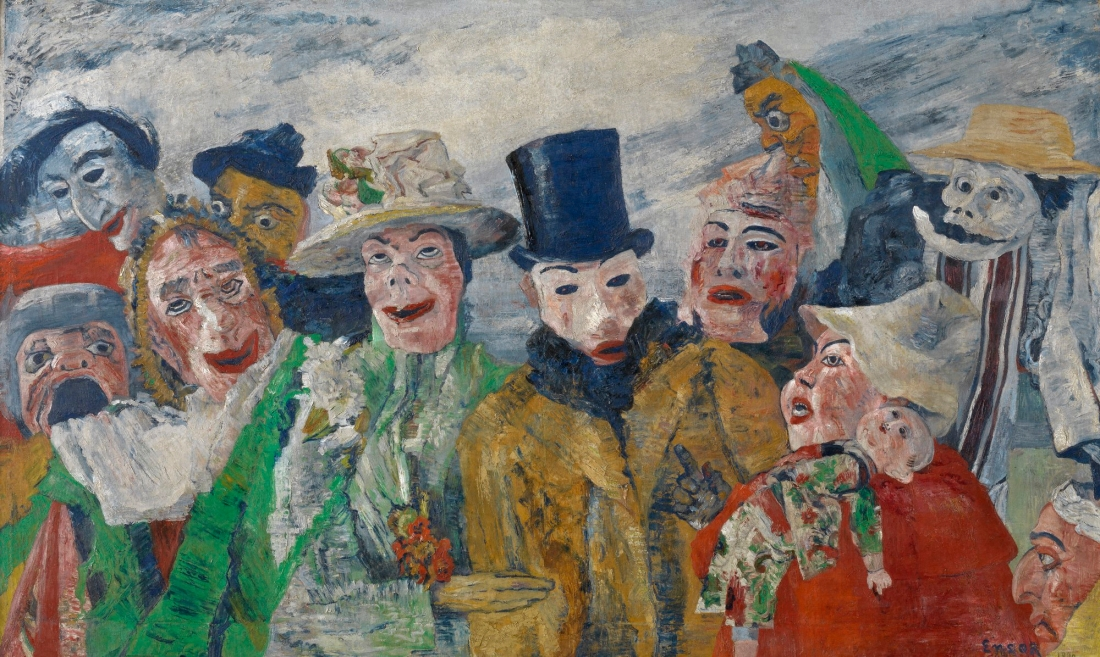 James Ensor, The Intrigue, 1911.