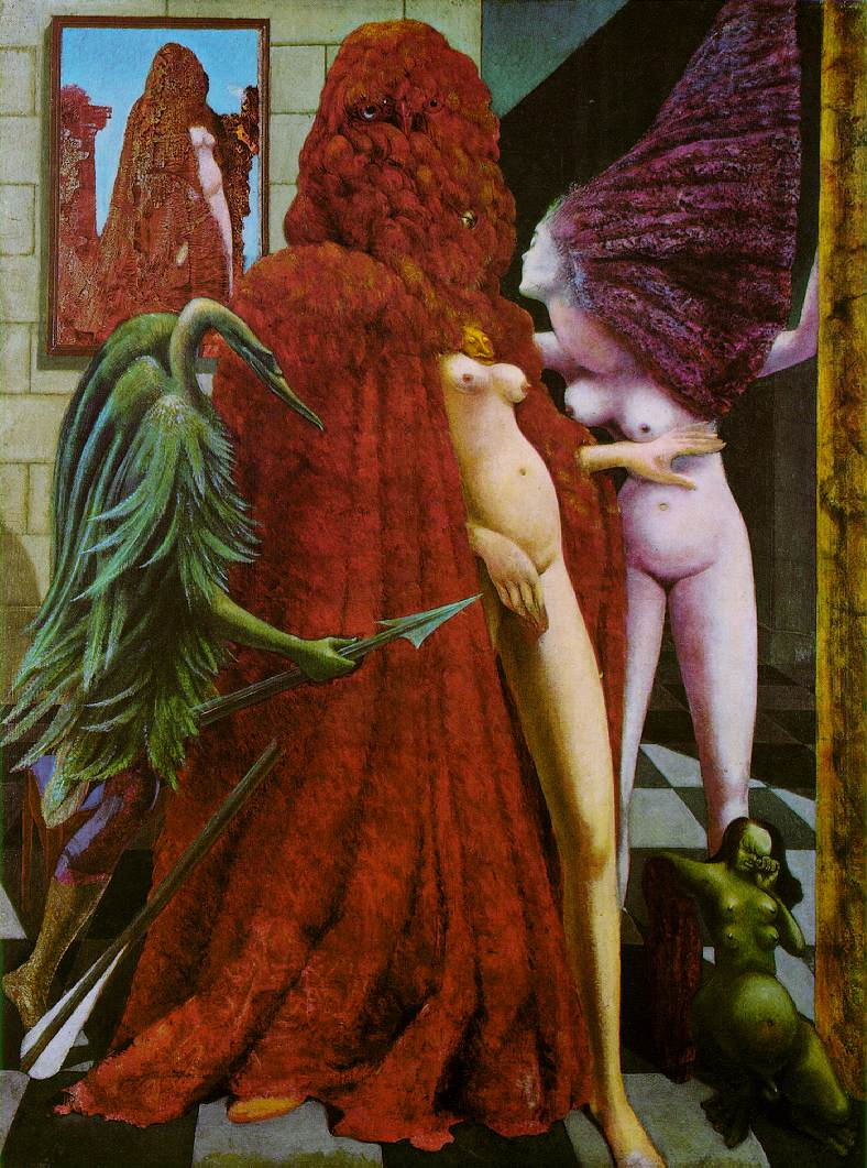 Max Ernst, Attirement of the Bride, 1940. Peggy Guggenheim Collection, Venice.