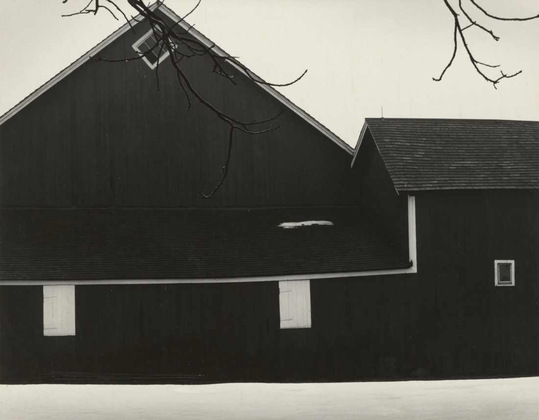 Minor White, Vicinity of Rochester, 1954.