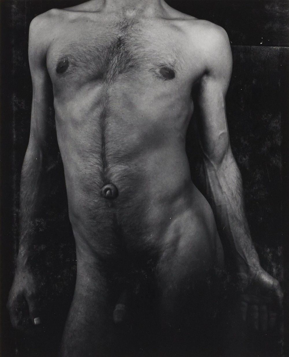 "Minor White, Tom Murphy, San Francisco, 1947. No. 21 in the sequence ""The Temptation of St. Anthony Is Mirrors,"" 1948."